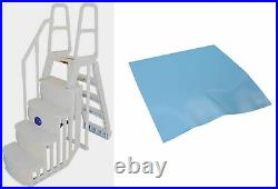 MAIN ACCESS 200100T Above Ground Swimming Pool Smart Step/Ladder System with Pad