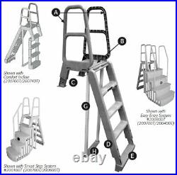 MAIN ACCESS 200700T Incline Ladder for Above Ground Swimming Pools (Used)
