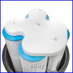 Maximum Clean Clear Plus Inground Swimming Pool spa 4 Cartridge Filter 425 sqft