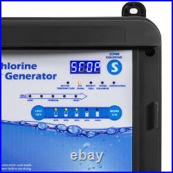 NEW Premium Salt Water Swimming Pool Chlorine Generator System for 35000 Gallon