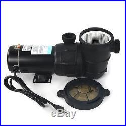 New 1.5 HP Pump Above Ground swimming Pool filter 1.5 port hi flo 115v motor