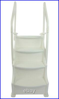 Ocean Blue 400650 Mighty Step 38 Wide Above Ground Swimming Pool Steps Ladder