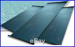 One 4x12 PANEL SOLAR POOL HEATER HEATING KIT 1.5 HEADER NEW