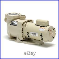 Pentair 1 HP SuperFlo 340038 Standard Efficiency SS Pool Pump 115V/230V