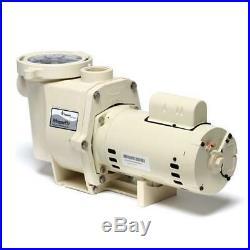Pentair 2HP 011774 WhisperFlo Up-Rated Standard Efficiency Pool Pump, 115V/230V