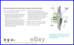 Pentair 601011 IntelliBrite 5G Color Underwater Swimming Pool LED 12 Volt Light
