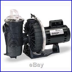 Pentair Challenger. 75 HP High Flow Inground Swimming Pool Pump 343232
