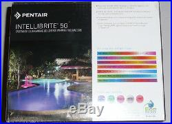 Pentair Intellibrite 601011 5G LED Color pool light 12V, 50' ft Cord ends 4/30