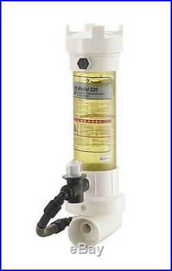 Pentair Rainbow 320C In-Line Pool Automatic Chlorine Bromine Chemical Feeder