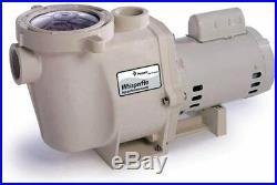 Pentair WhisperFlo Pool Pump, 1 1/2 Horsepower, 115/230 Volt, 1 Phase