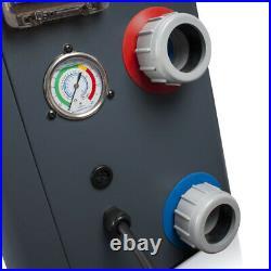 Pool Wärmepumpe 14 kW Pool 75 m³ Poolheizung Luft Wasser Wärmetauscher Pumpe