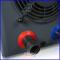Pool Wärmepumpe 4,2kW Poolheizung Luft Wasser Wärmetauscher Pool