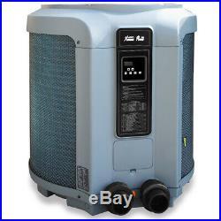 Premium Pool Heat Pump Pool & Spa Super Quiet Swimming Heater 53,000 BTU Digital