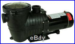 Rx Clear Mighty Niagara 1 HP In-Ground Single Speed Swimming Pool Pump
