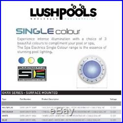 SPA ELECTRICS GKRX / GK7 Retro Fit BLUE COLOUR LED Pool Light Variable Voltage