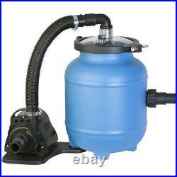 Sandfilteranlage Filterkessel Poolfilter Sandfilter 4 m³/h. Filterballs