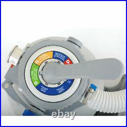 Summer Waves 10 Inch Sand Filter Pump System for Above Ground Swimming Pools