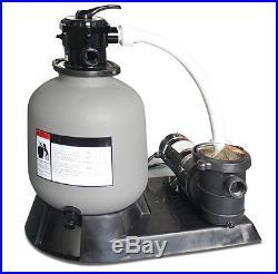 Swimline 71915 19 2900 GPH Sand Filter Pump Above Ground Intex Swimming Pool