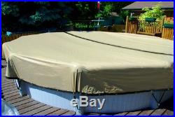 ULTIMATE, Above Ground Winter Swimming POOL Cover, ARMOR KOTE, 10 yr, ALL SIZES