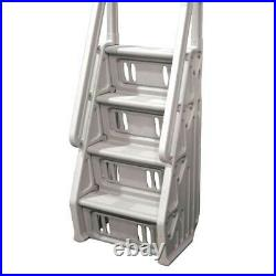Vinyl Works In Step 46 60 Above Ground Swimming Pool Ladder, Taupe (Open Box)