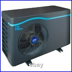 Wärmepumpe 5 kW Pool 25 m³ Poolheizung Pumpe Luft Wasser Wärmetauscher Pumpe