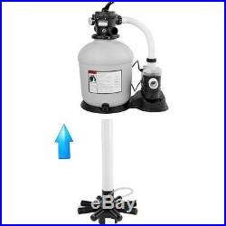 XtremepowerUS above ground Swimming Pool 16 Sand Filter 3100GPH. 75hp Pool Pump